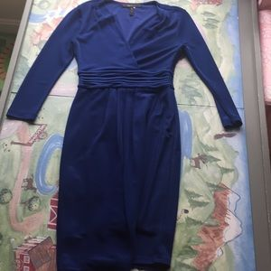 BCBG size small Royal Blue Dress.